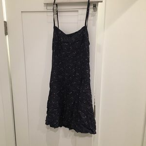 Ralph Lauren floral slip dress open back
